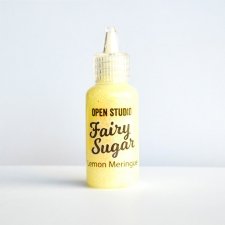 Lemon Meringue glitter glue