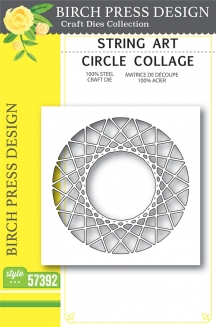 String Art Circle Collage