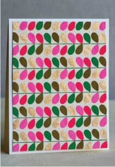 Pink Folia Handmade-1 Sheet