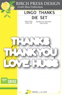 Lingo Thanks die set