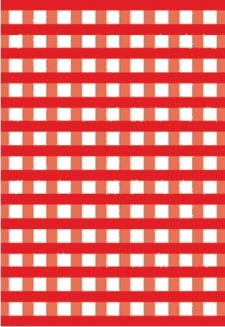Cranberry Gingham-5 sheets