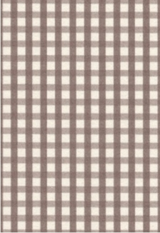 Vanilla Bean Gingham-5 sheets