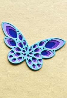Sparkler Butterfly Layer Set