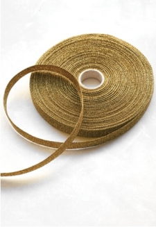 Gold Metallic Ribbon - 54 yds