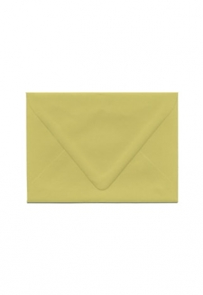 A-6 Golden Green Envelope