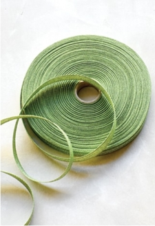 Olive Metallic Ribbon - 54 yds