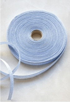 Periwinkle Metallic Ribbon - 54 yds