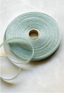 Sage Metallic Ribbon - 54 yds