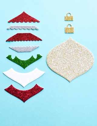 Holiday Glitter Pad