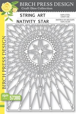 String Art Nativity Star