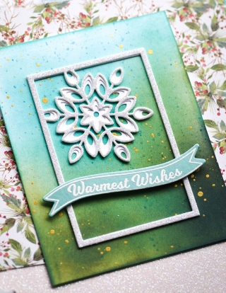 Mini Snowflake Frame Layer Set