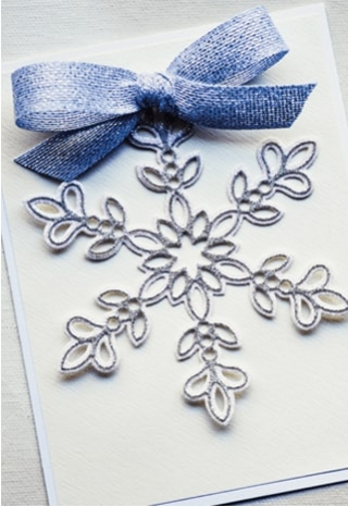 Glitz Snowflake Layer Set