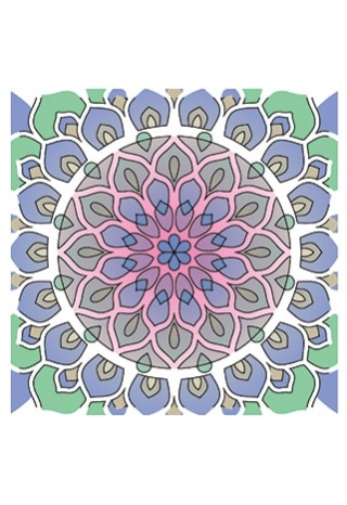 Shining Mandala Clear Stamp Set