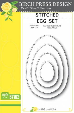 Stitched Egg Set