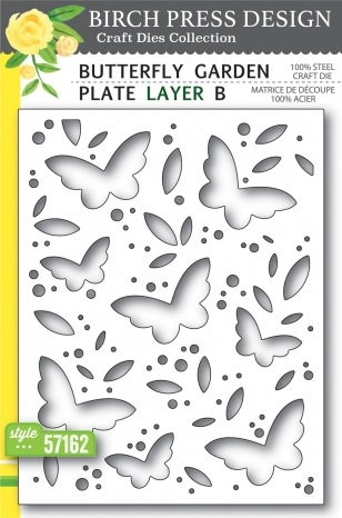 Butterfly Garden Plate Layer B