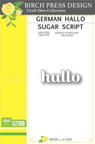 German Hallo Sugar Script