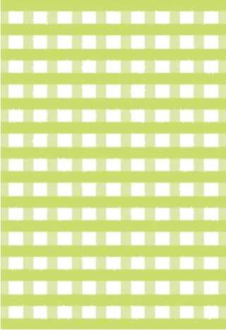 Key Lime Gingham-5 sheets