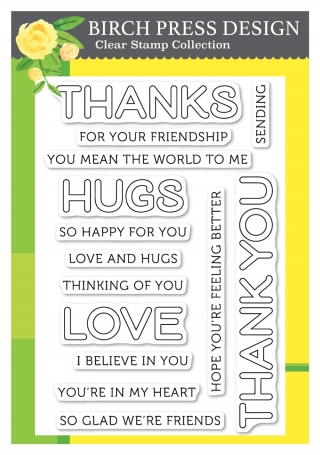 Lingo Thanks Stamp Set