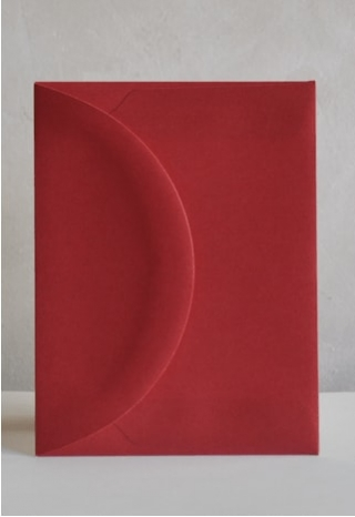 Raspberry A2 Envelopes