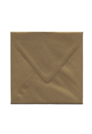 6 1/2 Antique Gold Envelope