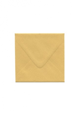 5 3/4 Gold Envelope
