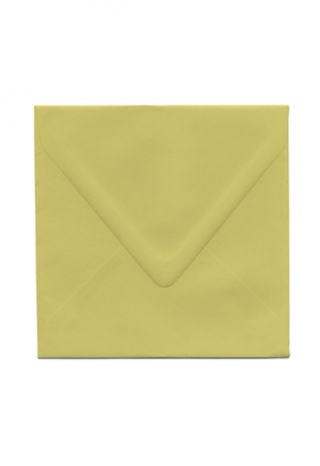 6 1/2 Golden Green Envelope